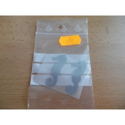 Reflexní nažehlovačka - 2x mořský koník