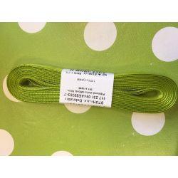 Taftová stuha zelená  9mm