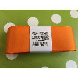 Taftová stuha oranžová 40mm