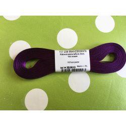 Taftová stuha fialová 6mm