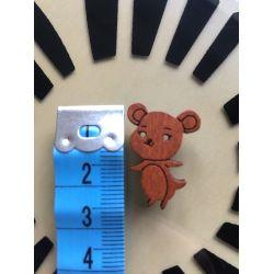 Dřevěný knoflík 2,5 cm