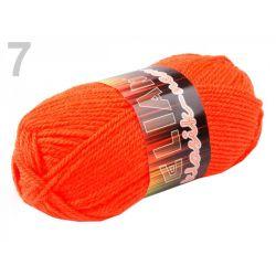 Pletací příze Elian Neon - oranžová