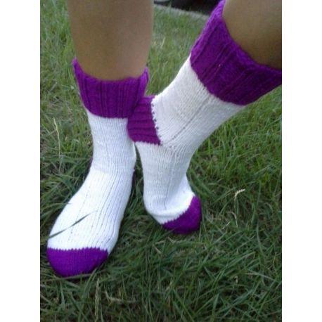 Ponožky zelená neon