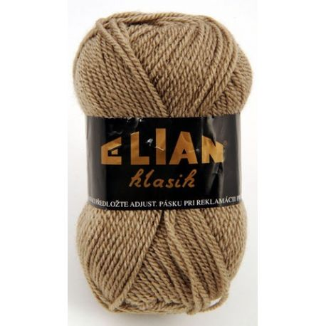 Elian Klasik - hnědá/režná