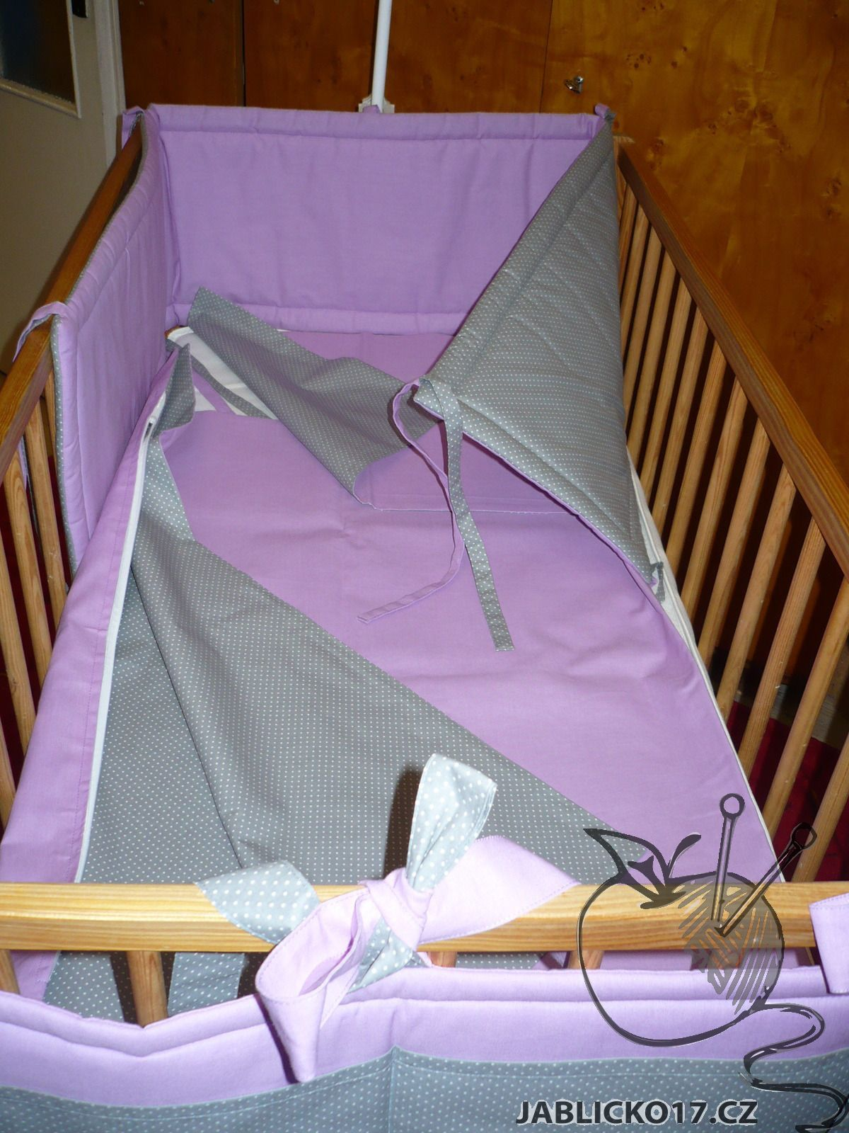 Rovný mantinel  - fialová, šedá (více variant)