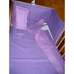 Rovný mantinel - fialová (více variant)