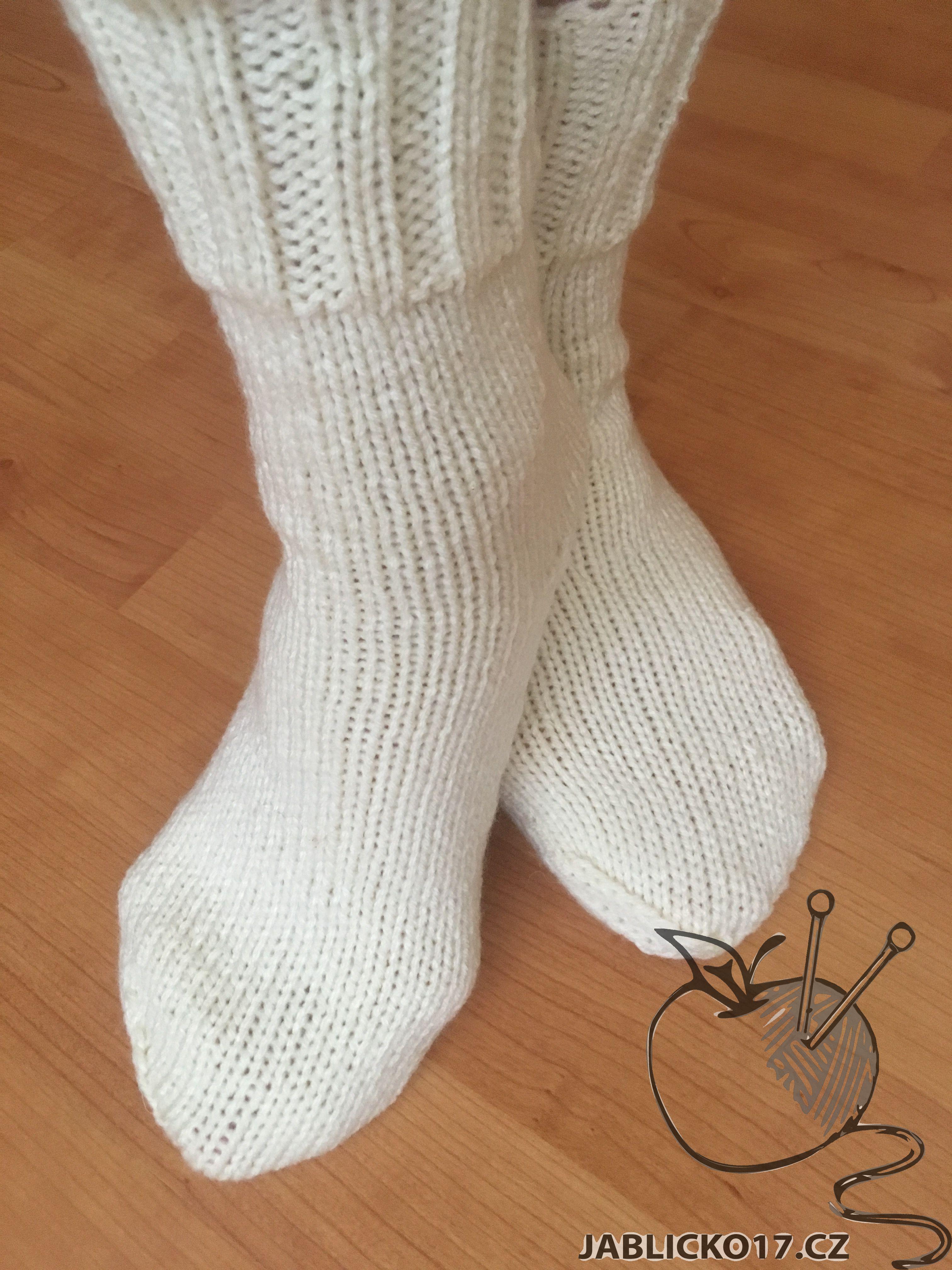Ponožky - smetana