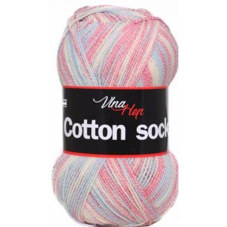 Cotton socks - jemný melír