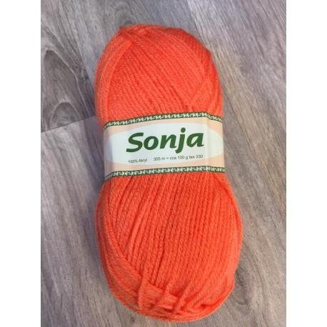 Pletací příze Sonja - oranžová