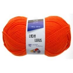 Pletací příze Lada luxus - oranžová