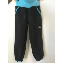 Softshellové kalhoty pro děti - teplé