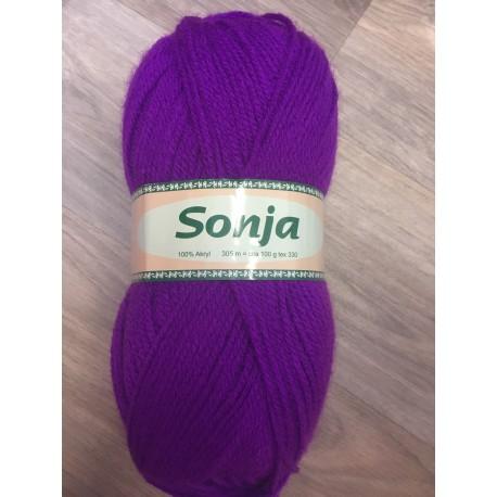 Pletací příze Sonja - fialová