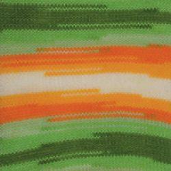 Dancing baby -zeleno oranžová