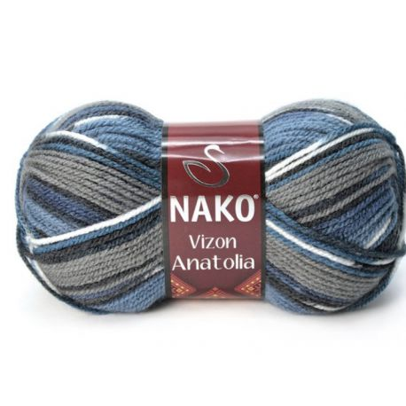 VIZON ANATOLIA tm. modrý melír