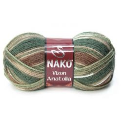 VIZON ANATOLIA zelený melír