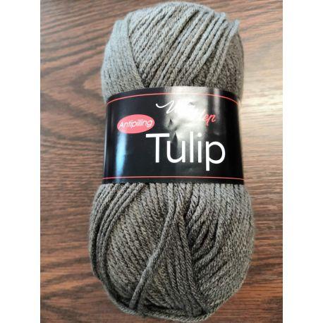 Tulip tmavě šedá