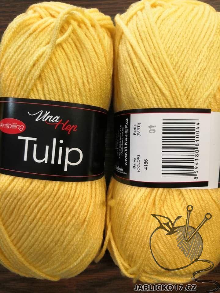 Tulip žlutá
