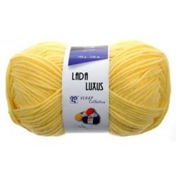 Pletací příze Lada luxus - žlutá
