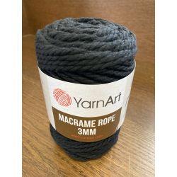 Macrame ROPE 3MM černá