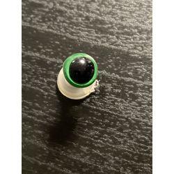 Bezpečnostní oko 8mm zelená