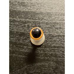 Bezpečnostní oko 8mm žlutá