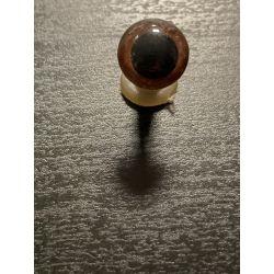 Bezpečnostní oko 12 mm hnědá