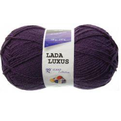 Pletací příze Lada luxus - lilkově fialová