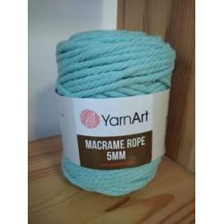 Macrame ROPE 5mm mint